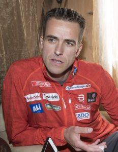 Sjefslege for det norske langrennslandslaget, Øystein Andersen.